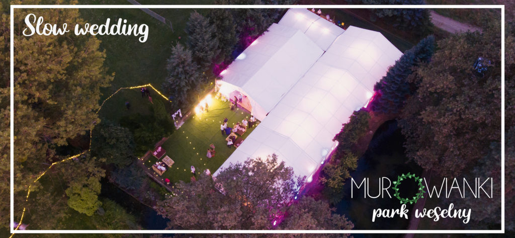 Park weselny Murowianki - sala weselna w plenerze